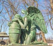 Ángel que llora Foto de archivo libre de regalías