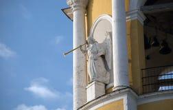 Ángel que sopla Foto de archivo libre de regalías