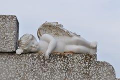 Ángel sleeping fotos de archivo