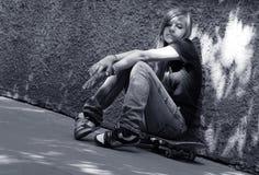 Ángel triste Foto de archivo libre de regalías