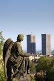 Ángel urbano imágenes de archivo libres de regalías