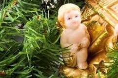 Ángel y árbol Imagen de archivo libre de regalías