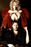 Ángel y diablo Foto de archivo
