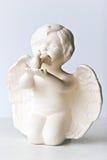 Ángel y paloma fotografía de archivo libre de regalías