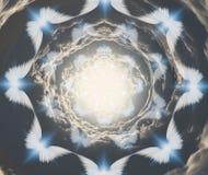 ángeles ilustración del vector