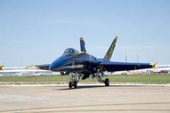 Ángeles azules F-18 Imagenes de archivo