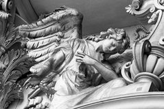 Ángeles con la cruz, Berlin Cathedral foto de archivo libre de regalías