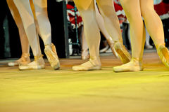 Ángeles de la bailarina Imágenes de archivo libres de regalías