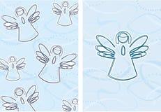 Ángeles de la Navidad Imagen de archivo libre de regalías