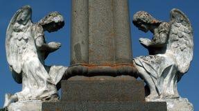 Ángeles de piedra Imagen de archivo libre de regalías