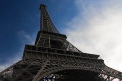 Ángulo bajo de Eiffel imagen de archivo