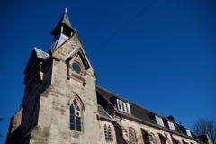 Ángulo de la escuela de St Johns imagen de archivo
