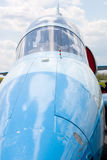 Ángulo de la nariz del avión Imagen de archivo