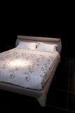 Ángulo gris de la cama Imagen de archivo libre de regalías