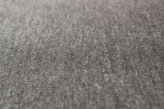 Ángulo gris de la tela de la camiseta Foto de archivo