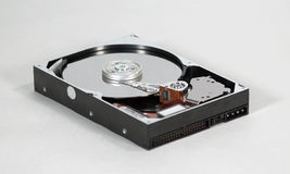 Ángulo inferior del mecanismo impulsor duro Foto de archivo libre de regalías