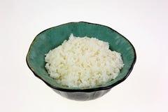 Ángulo minucioso del cuenco de arroz Fotografía de archivo