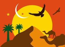 Árabe ilustração stock