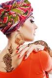 Árabe de la mujer Imagenes de archivo