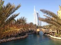 Árabe del Al de Burj, Dubai, UAE Foto de archivo libre de regalías