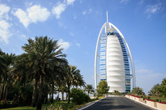 Árabe del al de Burj en Dubai, UAE Imagenes de archivo