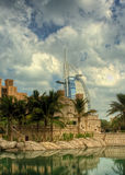 Árabe del Al de Burj - HDR Imágenes de archivo libres de regalías