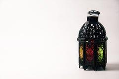 Árabe o Marruecos aligerado del estilo de la linterna fotos de archivo