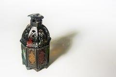 Árabe o Marruecos aligerado del estilo de la linterna foto de archivo libre de regalías