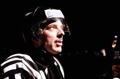 Árbitro del hockey Imagen de archivo libre de regalías