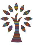 Árbol étnico del estilo stock de ilustración