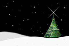 Árbol 2 de Navidad Imágenes de archivo libres de regalías