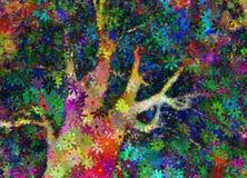 Árbol abstracto stock de ilustración