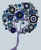 Árbol abstracto Imágenes de archivo libres de regalías