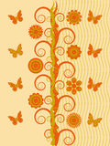 Árbol abstracto Imagen de archivo libre de regalías