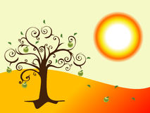 Árbol abstracto Ilustración del Vector
