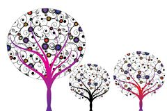 Árbol abstracto Fotos de archivo libres de regalías