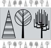 Árbol abstracto Ilustración Ilustración del Vector
