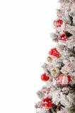 Árbol adornado de los cristmas Foto de archivo libre de regalías