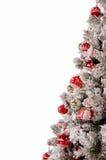 Árbol adornado de los cristmas Imágenes de archivo libres de regalías