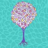 Árbol colorido Imagen de archivo