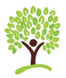 Árbol como símbolo Fotografía de archivo