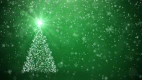 Árbol creciente del Año Nuevo ilustración del vector
