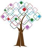 Árbol cuadrado Fotos de archivo libres de regalías