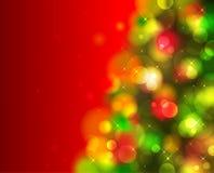Árbol de abeto de la Navidad Imagen de archivo