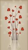 Árbol de amor Fotos de archivo libres de regalías