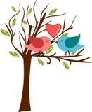 Árbol de amor Imagen de archivo libre de regalías