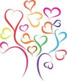 Árbol de amor Fotografía de archivo libre de regalías