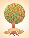 Árbol de amor Foto de archivo libre de regalías