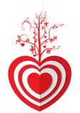 Árbol de amor Foto de archivo