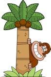 Árbol de Bigfoot de la historieta Fotos de archivo libres de regalías